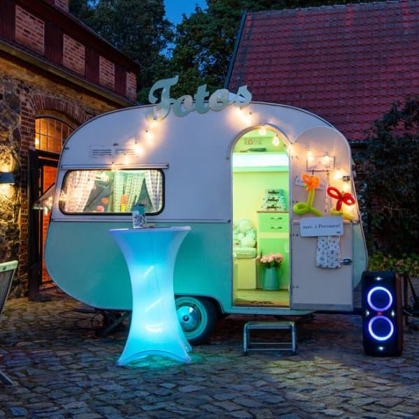 Fotobox Caravan, Photobox Bulli ins Potsdam mieten