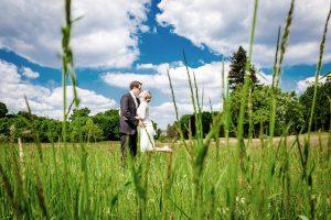 Hochzeit in Potsdam in der Natur