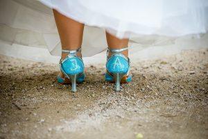 Brautschuhe selbst gemacht